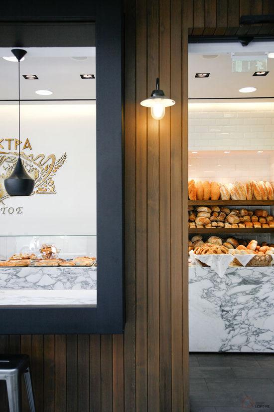 希腊Elektra面包店设计,很特别的面包店,上海面包店设计,上海面包坊设计,上海面包房设计,上海烘焙屋设计,上海咖啡馆设计,特别的面包店设计,北欧面包店设计,欧式面包店设计
