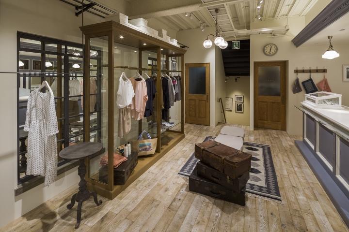 日本Ciaopanic潮流服装店铺设计,商业空间设计,服装店设计,上海商业空间设计,上海服装店设计,服饰店设计,饰品店设计,专业的商业空间设计,服装卖场设计