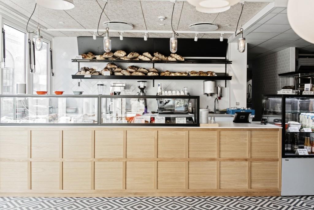 Mirabelle 丹麦哥本哈根餐厅,上海北欧餐厅设计,咖啡馆设计,面包店设计,餐厅设计,餐饮设计,北欧设计,北欧咖啡馆设计,北欧餐饮设计,简洁的餐厅设计,Boreal Europe style restaurant-1