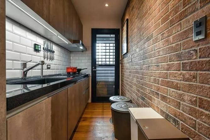 LOFT小户型工业风粗犷木质公寓,上海室内设计,工业风格室内设计,小户型LOFT室内设计,LOFT室内设计,小户型室内设计,工业风格设计,粗犷公寓设计,工业风格公寓设计,Industrial style apartment-10