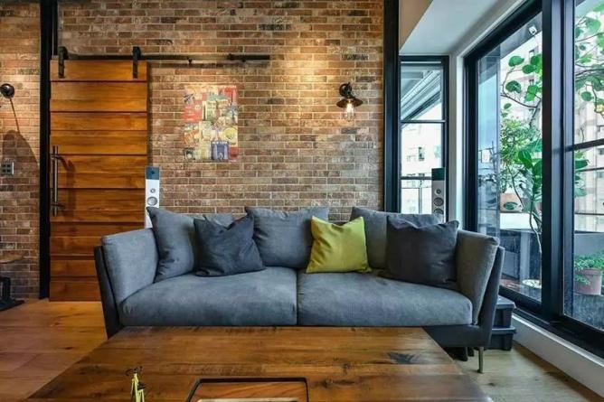 LOFT小户型工业风粗犷木质公寓,上海室内设计,工业风格室内设计,小户型LOFT室内设计,LOFT室内设计,小户型室内设计,工业风格设计,粗犷公寓设计,工业风格公寓设计,Industrial style apartment-11