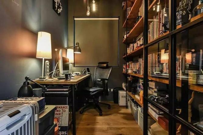 LOFT小户型工业风粗犷木质公寓,上海室内设计,工业风格室内设计,小户型LOFT室内设计,LOFT室内设计,小户型室内设计,工业风格设计,粗犷公寓设计,工业风格公寓设计,Industrial style apartment-12