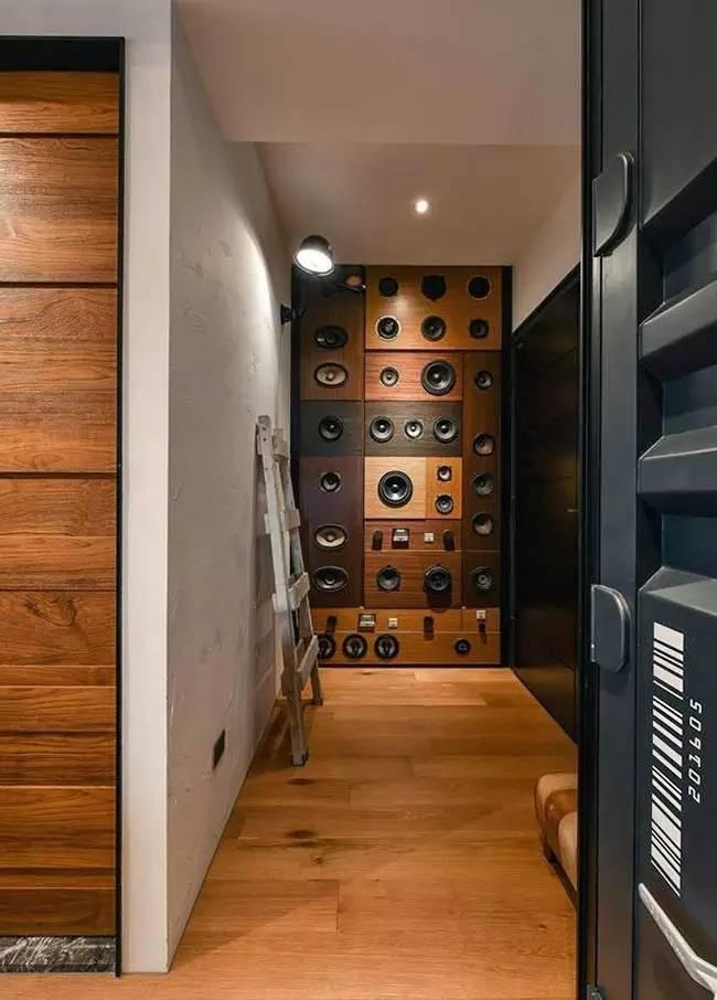 LOFT小户型工业风粗犷木质公寓,上海室内设计,工业风格室内设计,小户型LOFT室内设计,LOFT室内设计,小户型室内设计,工业风格设计,粗犷公寓设计,工业风格公寓设计,Industrial style apartment-14