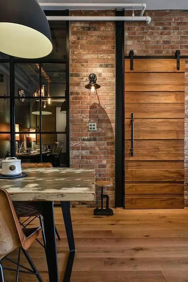 LOFT小户型工业风粗犷木质公寓,上海室内设计,工业风格室内设计,小户型LOFT室内设计,LOFT室内设计,小户型室内设计,工业风格设计,粗犷公寓设计,工业风格公寓设计,Industrial style apartment-15