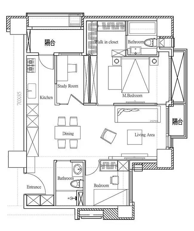 LOFT小户型工业风粗犷木质公寓,上海室内设计,工业风格室内设计,小户型LOFT室内设计,LOFT室内设计,小户型室内设计,工业风格设计,粗犷公寓设计,工业风格公寓设计,Industrial style apartment-16