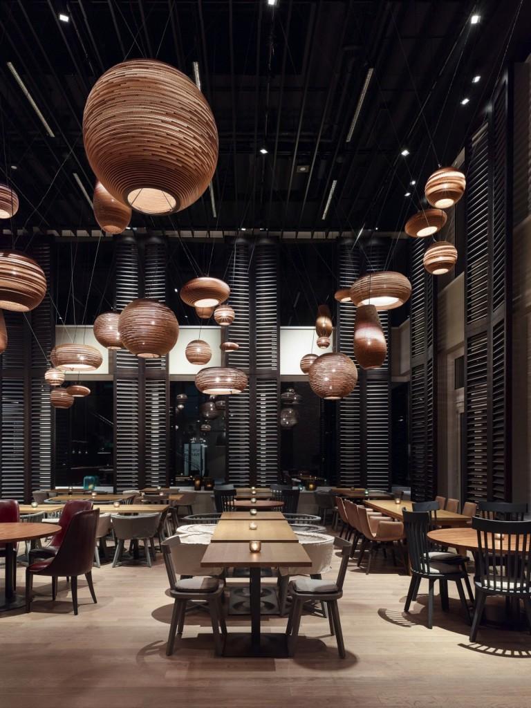 Motel One Munich – Campus Restaurant,上海餐厅设计,酒店餐厅设计,上海餐饮设计,上海红酒吧设计,上海酒店红酒吧设计,Motel One Munich-Campus Restaurant-4