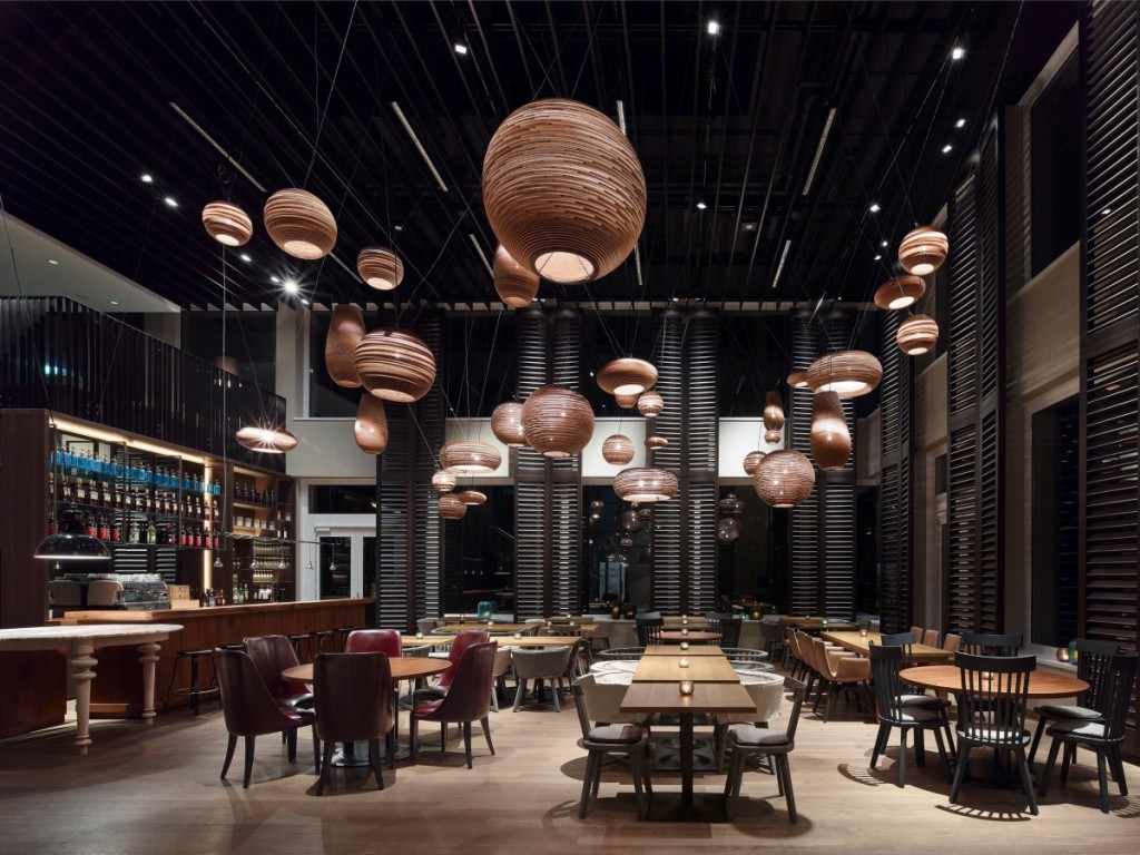 Motel One Munich – Campus Restaurant,上海餐厅设计,酒店餐厅设计,上海餐饮设计,上海红酒吧设计,上海酒店红酒吧设计,Motel One Munich-Campus Restaurant-5