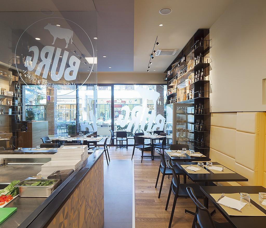 Burg餐厅,汉堡店,上海汉堡店设计,汉堡餐厅设计,西餐厅设计