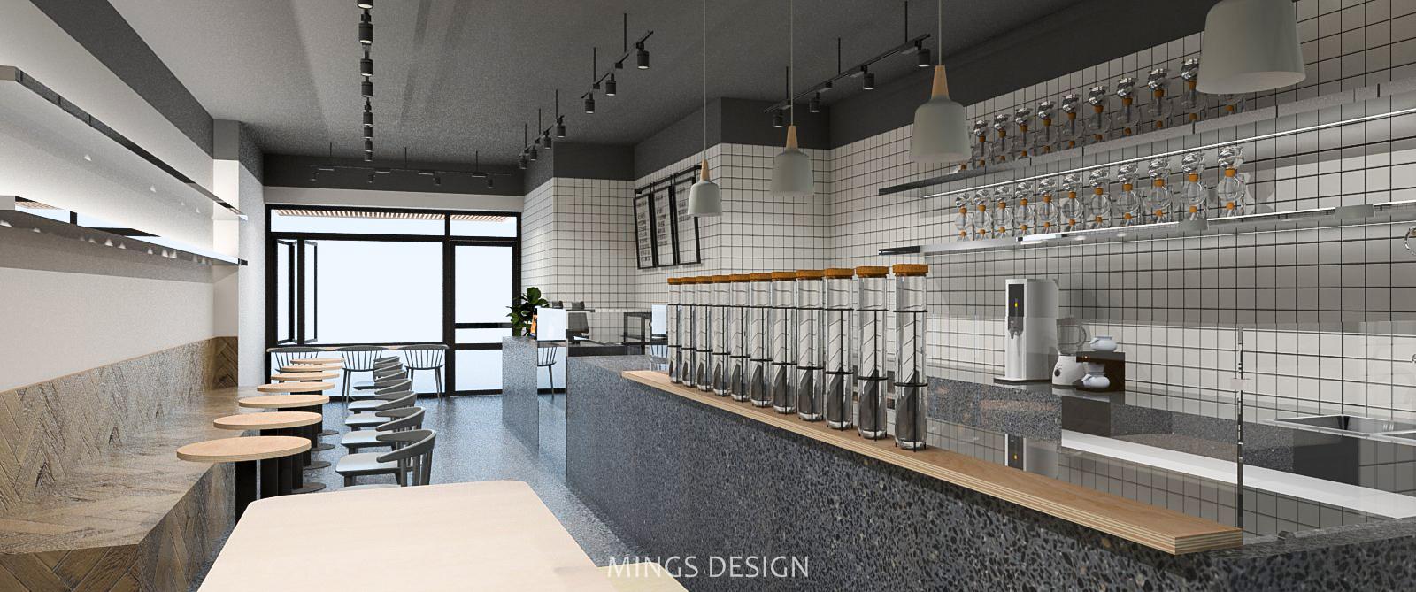 清新风格网红奶茶店,上海奶茶店设计,北欧风格奶茶店设计,网红奶茶店设计,上海喜茶奶茶店设计,上海喜茶风格奶茶店设计