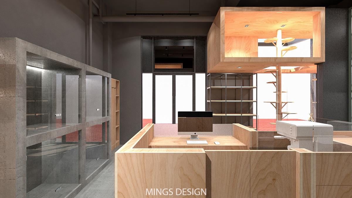 宠物店设计,猫舍设计,狗舍设计,犬舍设计,上海宠物店设计 ,工业风宠物店设计,高端宠物店设计
